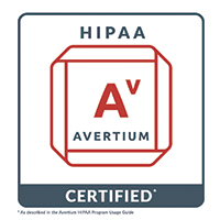 Avertium HIPAA Certification Program
